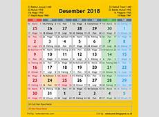 Kalender 2018 CDR 12 Bulan Free Download Design Corel