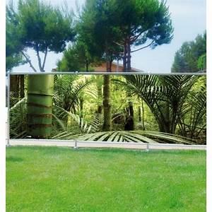 Brise Vue Décoratif : brise vue d co bambous art d co stickers ~ Nature-et-papiers.com Idées de Décoration