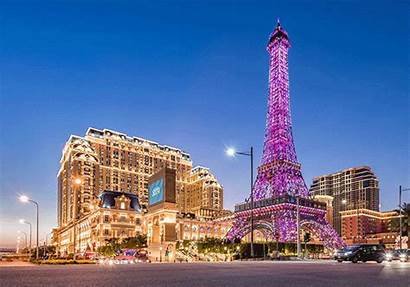 Eiffel Tower Macau Parisian Macao Hotel Grand