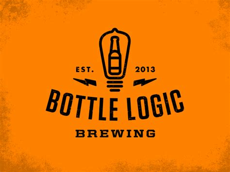 Bottle Logic Logo By Emrich Office