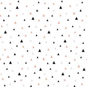 papier peint enfant triangles noir rose beige lilipinso