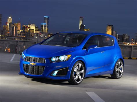 2018 Chevrolet Aveo Rs Front And Side 1024x768 Wallpaper