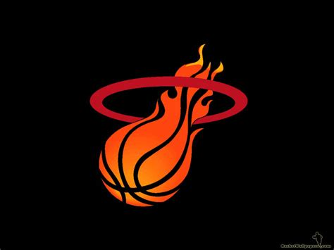 miami heat logo wallpaper basketball wallpapers