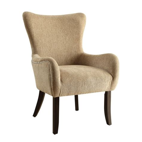 coaster casual accent chair in soft sand 902503