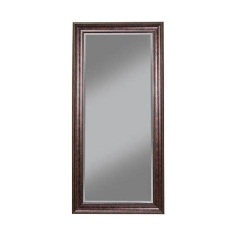 floor mirror leaner oil rubbed bronze full length leaner floor mirror 14211 the home depot