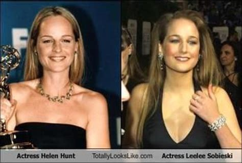 thought leelee sobieski  helen hunts daughter