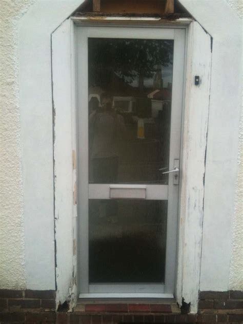 Replace Exterior Door Frame  Replace Exterior Door Frame