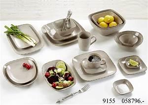 Teller Set Grau : servierteller set 3tlg casa grau ritzenhoff breker ~ Michelbontemps.com Haus und Dekorationen
