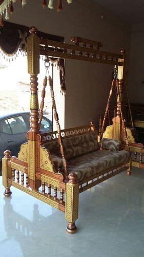 stylish wooden swing unjal  rs   set
