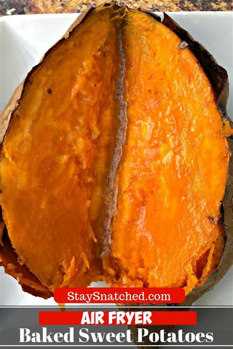easy air fryer loaded baked sweet potatoes   recipe