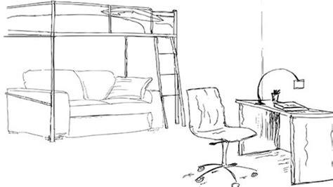 dessin d une chambre aménagement d une chambre d 39 adolescent minutefacile com