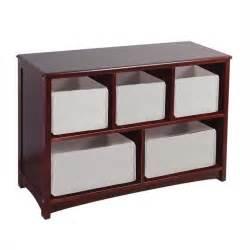 bookcase and toy storage guidecraft classic espresso tan storage bins set of 5