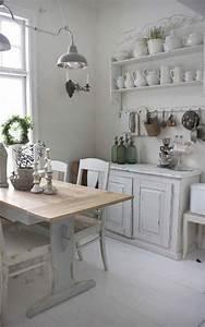 Küche Retro Stil : wei e vintage k che in franz sichem stil diy selber machen pinterest k che haus und ~ Watch28wear.com Haus und Dekorationen