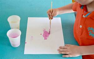activite enfant peinture gonflante maman a tout faire With fabriquer de la peinture
