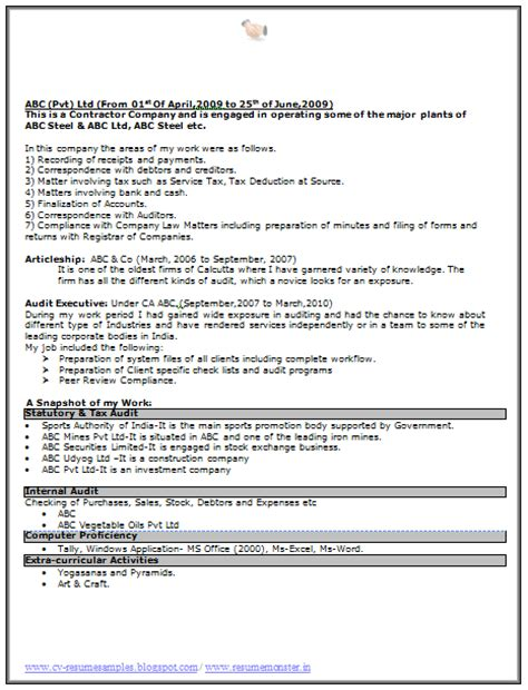 Excellent Resume Exles 2014 by 10000 Cv And Resume Sles With Free Excellent Resume Format Free