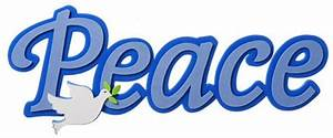 Peace Foamie Word Wall Deoration by SmileyMe!