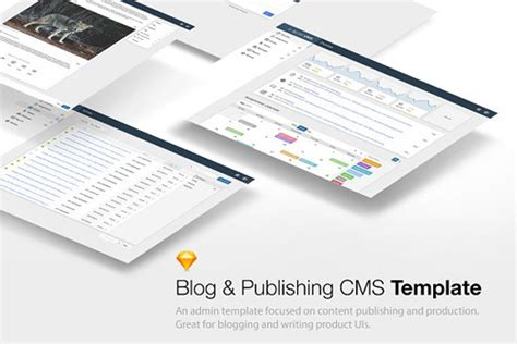 Cms Admin Templates Free Download by Creativemarket Sketch Cms Admin Template 2040496 Free