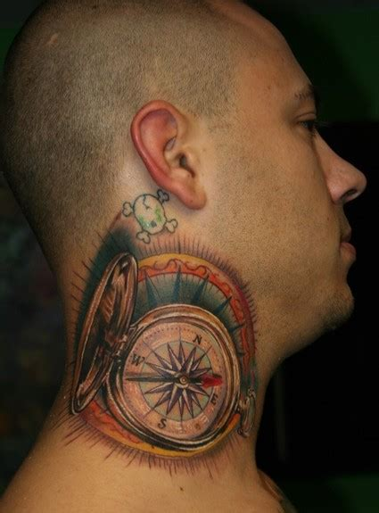compass tattoos  designs page