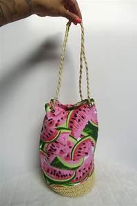 Sac En Paille Original : sac marin original pin up paille et tissu past que ~ Melissatoandfro.com Idées de Décoration