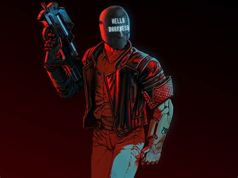 wallpaper ruiner  darkness  games