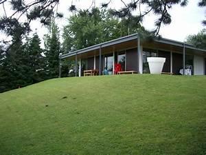 maison en structure metallique - extension b ton verre m tal d 39 une maison moderne