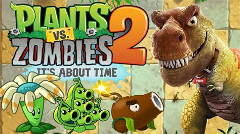 plants vs zombies 2 jurassic plant