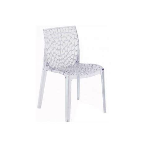 chaise de bar transparente chaise salle a manger transparente estein design