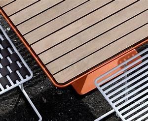 Table De Jardin Bois Et Metal : table design bois m tal de jardin tina carr e ~ Teatrodelosmanantiales.com Idées de Décoration