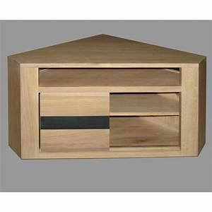 Meuble Bas But : meuble d angle tv but hoze home ~ Teatrodelosmanantiales.com Idées de Décoration