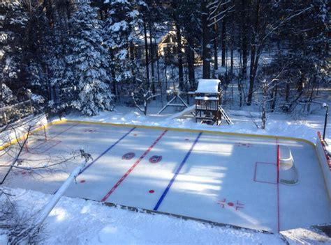 Incredible Backyard Rink Has Ice-level Bar, Golf Cart