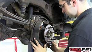 Installing New Oem Rear Drum Brakes 2013 Chevy Silverado