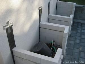 Outdoor Küche Bauen : outdoor k che mit kalksandsteinen mauern wir bauen dann mal ein haus ~ Markanthonyermac.com Haus und Dekorationen