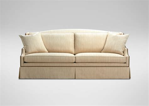 Ethan Allen Sofa Dimensions by Phoebe Sofa Sofas Loveseats
