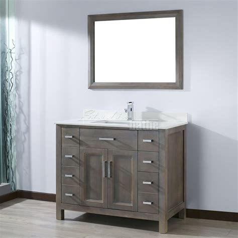 Vanity Ideas Amazing 42 Inch Bathroom Vanity Combo 42