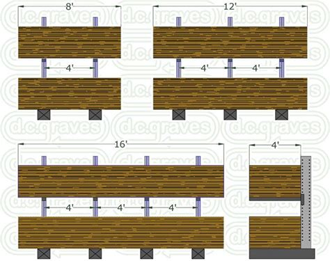 cantilever lumber storage racks woodworking projects plans
