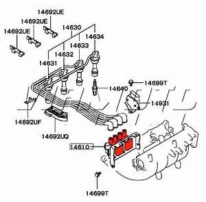 Viamoto Mitsubishi Car Parts Single Ignition Coil Pack