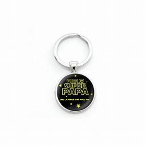 Porte Clé Super Papa : porte cl futur super papa cadeau pour annonce de grossesse naissance fantasyline ~ Melissatoandfro.com Idées de Décoration