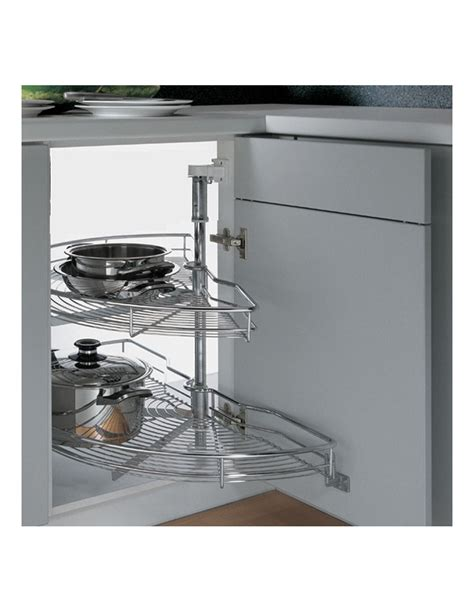 corner storage units for kitchens 1 2 chrome corner carousel corner unit storage 8372