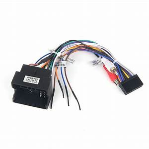 Dasaita Dyx010 Car Dvd Auto Stereo Wire Harness Adapter For Ford Focus Focus 2 Ford Fusion C Max