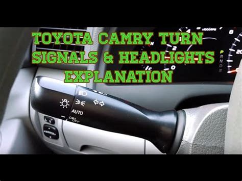 how to install replace headlights toyota camry 02 06 1a