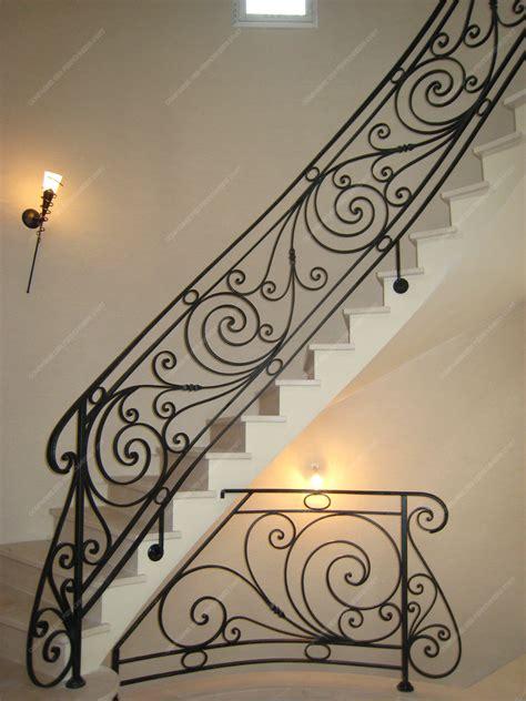 escalier en fer forge res d escalier en fer forg 233 style classique mod 232 le ranelagh anzaoui