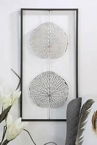 Metall Deko Wand : wand deko leafs metall ~ Markanthonyermac.com Haus und Dekorationen