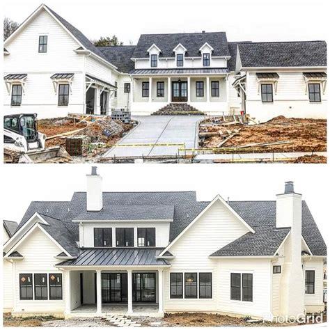 pin lindsey home sweet home dream house exterior modern farmhouse exterior custom