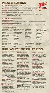 italian restaurant pizza menu ynot pizza italian