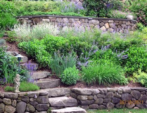landscaping steep slopes steep slope traditional landscape steps and pathways pinterest