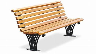 Bench Street Furniture Transparent Wooden Planks Benches