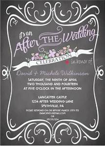 post wedding reception invitations gangcraftnet With post wedding party invitation wording samples