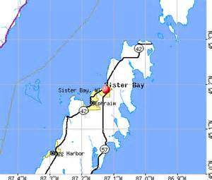 Sister Bay Wisconsin Map