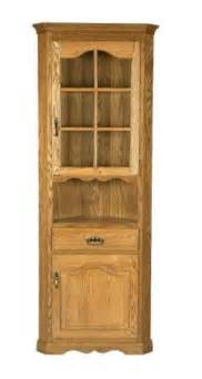 hutch kitchen furniture corner hutches amish corner hutch cabinet by dutchcrafters page 2