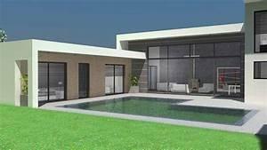 Plan Maison Contemporaine Toit Plat : maisons d 39 architecte contemporaines et villas d 39 exception ~ Nature-et-papiers.com Idées de Décoration